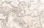 Antique map of the Persian Empire (Frémin)