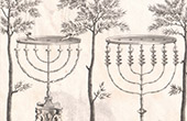 Vision of the Prophet Zechariah - Menorah - Golden Candlesticks - Tabernacle (Lami, Villalpand)