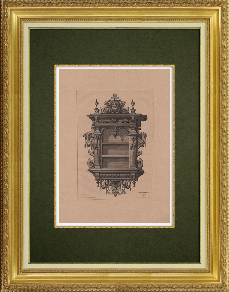 Gravures Anciennes & Dessins   Arts Décoratifs - Décorations (1860)   Gravure à l'eau-forte   1860
