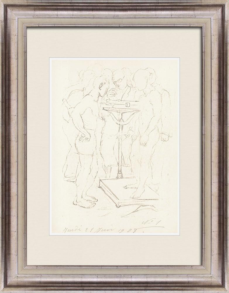 Gravures Anciennes & Dessins | Sport - Boxe 4/71 | Lithographie | 1928