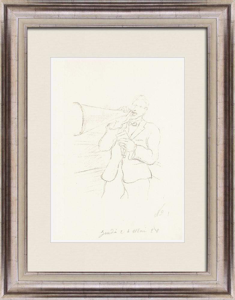 Gravures Anciennes & Dessins | Sport - Boxe 11/71 | Lithographie | 1928