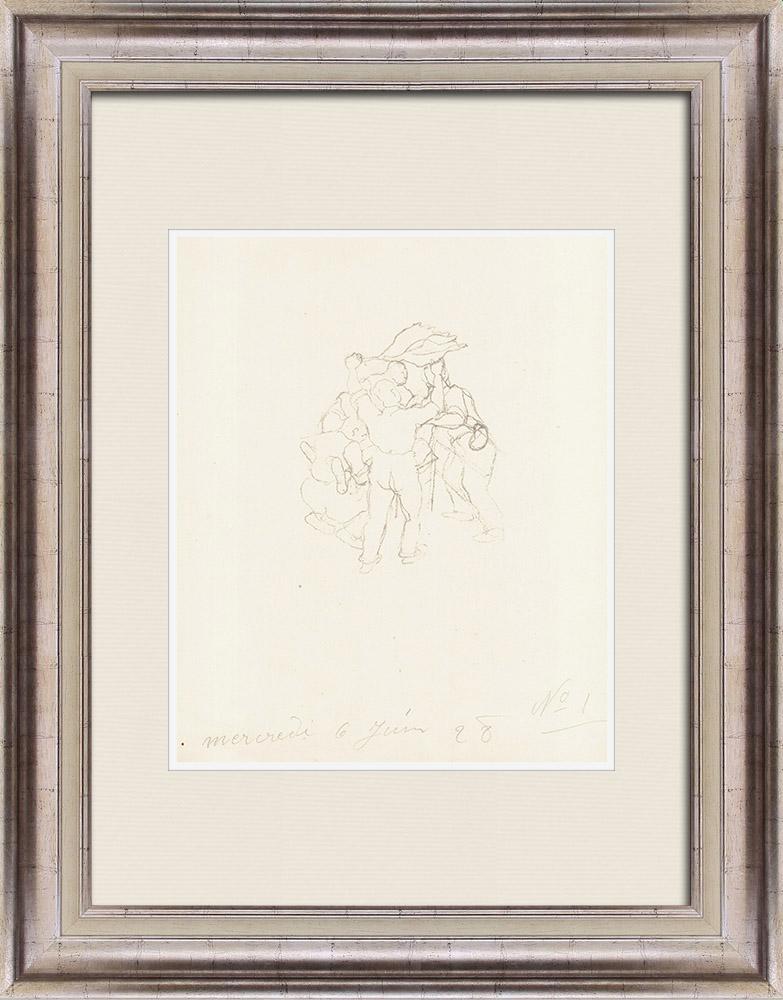 Gravures Anciennes & Dessins | Sport - Boxe 23/71 | Lithographie | 1928