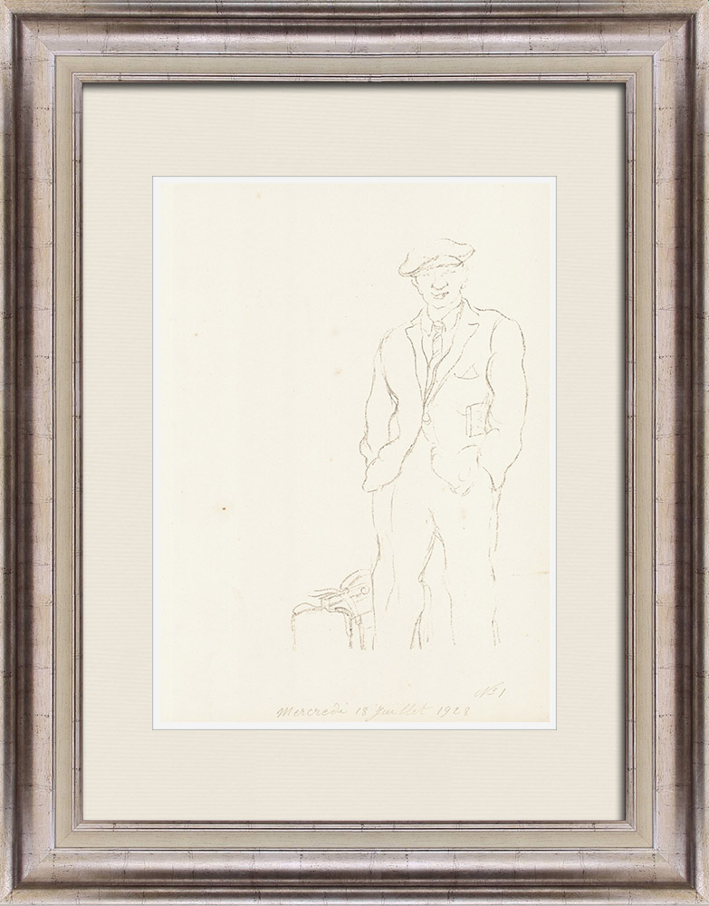 Gravures Anciennes & Dessins   Sport - Boxe 28/71   Lithographie   1928