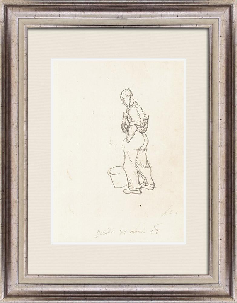 Gravures Anciennes & Dessins | Sport - Boxe 29/71 | Lithographie | 1928