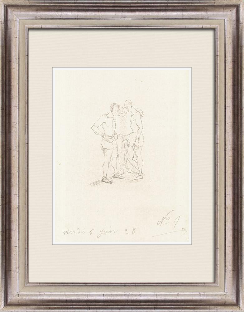 Gravures Anciennes & Dessins | Sport - Boxe 31/71 | Lithographie | 1928