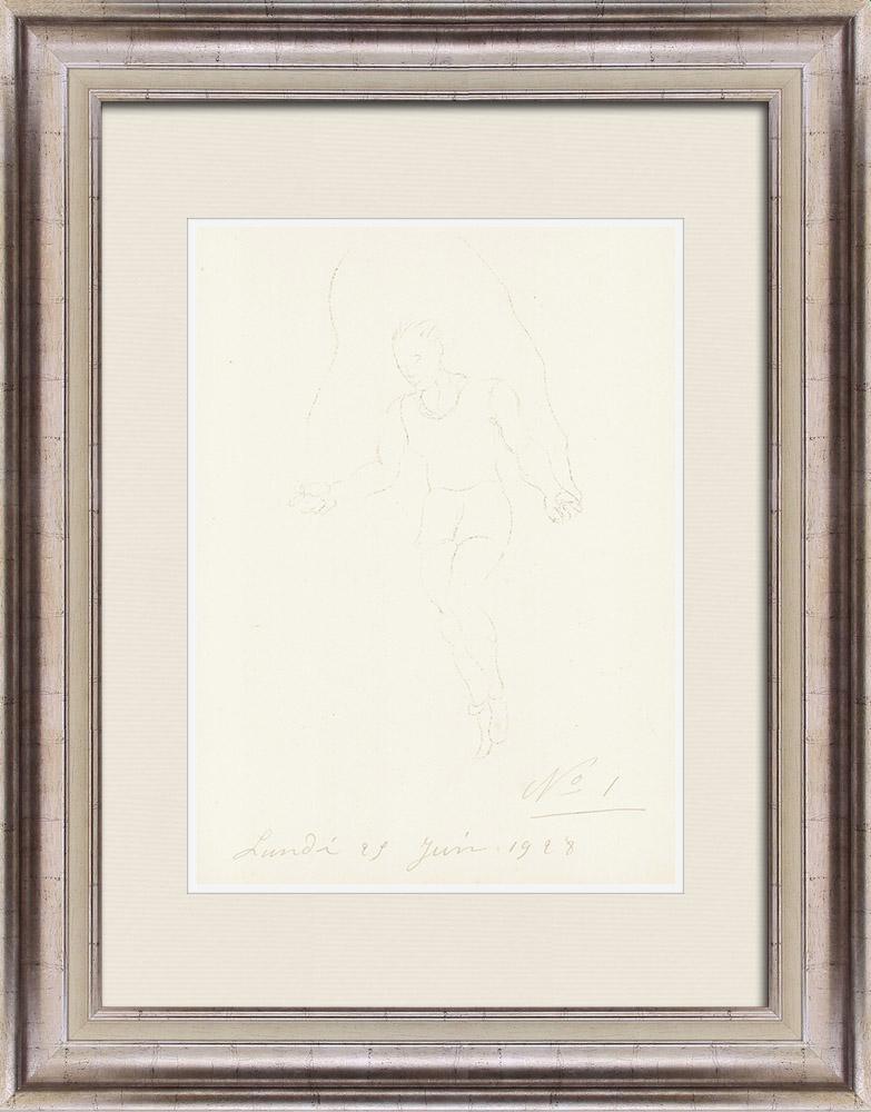Gravures Anciennes & Dessins | Sport - Boxe 42/71 | Lithographie | 1928