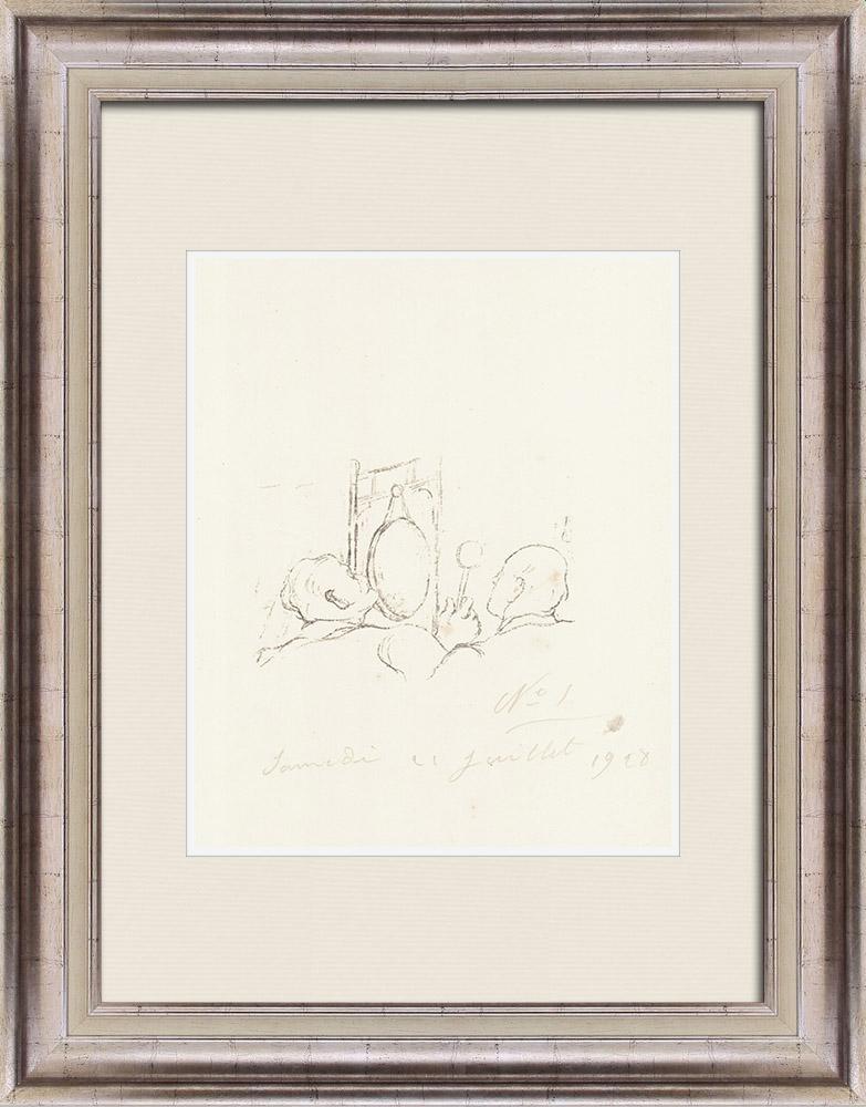 Gravures Anciennes & Dessins | Sport - Boxe 53/71 | Lithographie | 1928