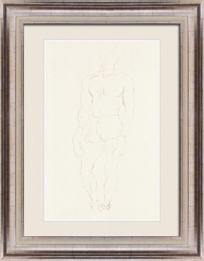 Gravures Anciennes & Dessins | Sport - Boxe 60/71 | Lithographie | 1928