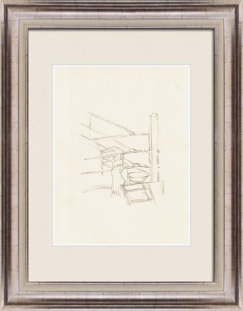 Gravures Anciennes & Dessins   Sport - Boxe 71/71   Lithographie   1928