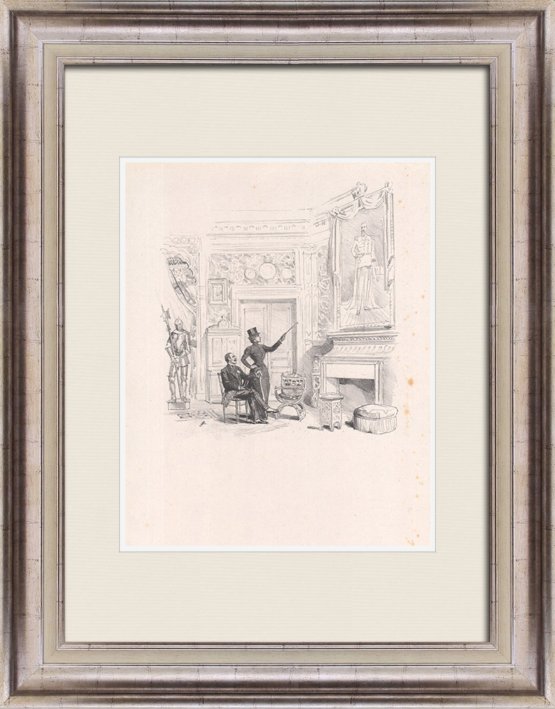 Antique Prints & Drawings | Theatre - Play - Education of a Prince (Maurice Donnay) 10/62 | Lithography | 1931