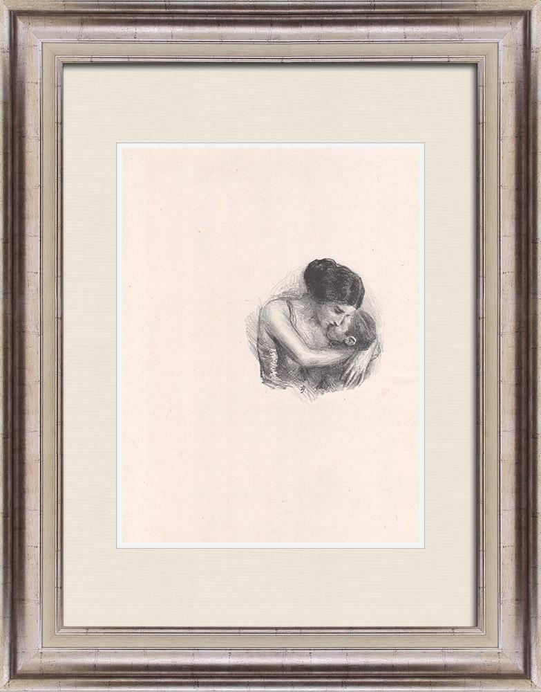 Gravures Anciennes & Dessins | Pièce de Théâtre - Education de Prince (Maurice Donnay) 21/62 | Lithographie | 1931