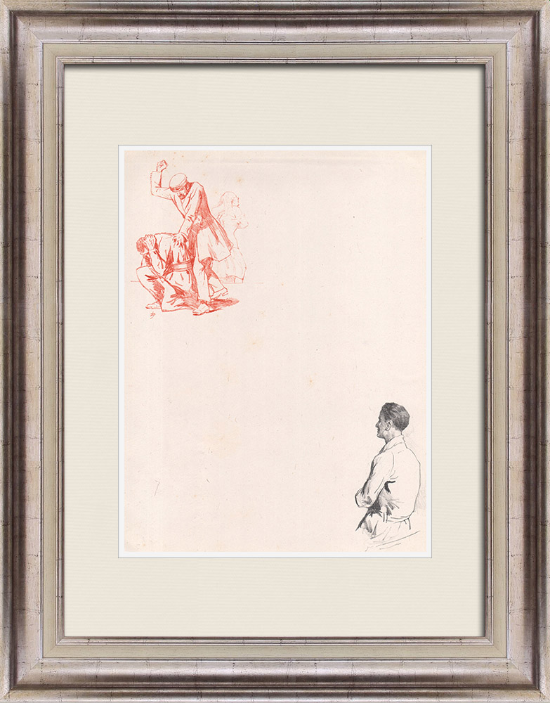 Antique Prints & Drawings | Theatre - Play - Education of a Prince (Maurice Donnay) 26/62 | Lithography | 1931
