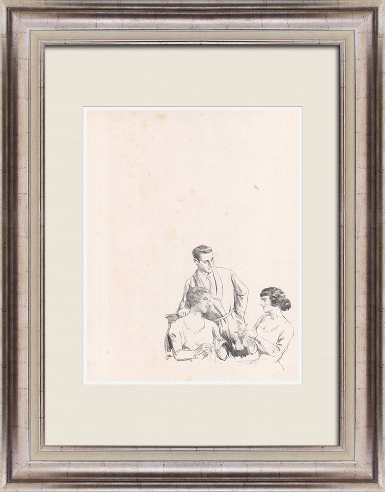 Gravures Anciennes & Dessins | Pièce de Théâtre - Education de Prince (Maurice Donnay) 28/62 | Lithographie | 1931