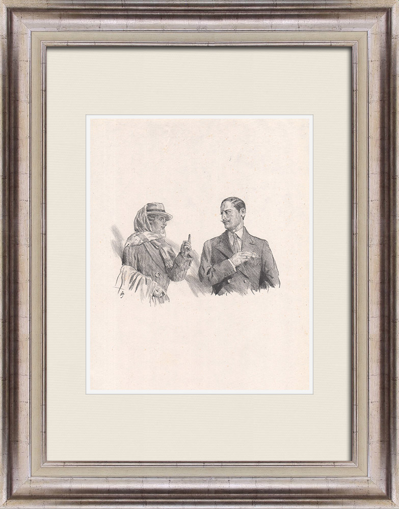 Antique Prints & Drawings | Theatre - Play - Education of a Prince (Maurice Donnay) 33/62 | Lithography | 1931