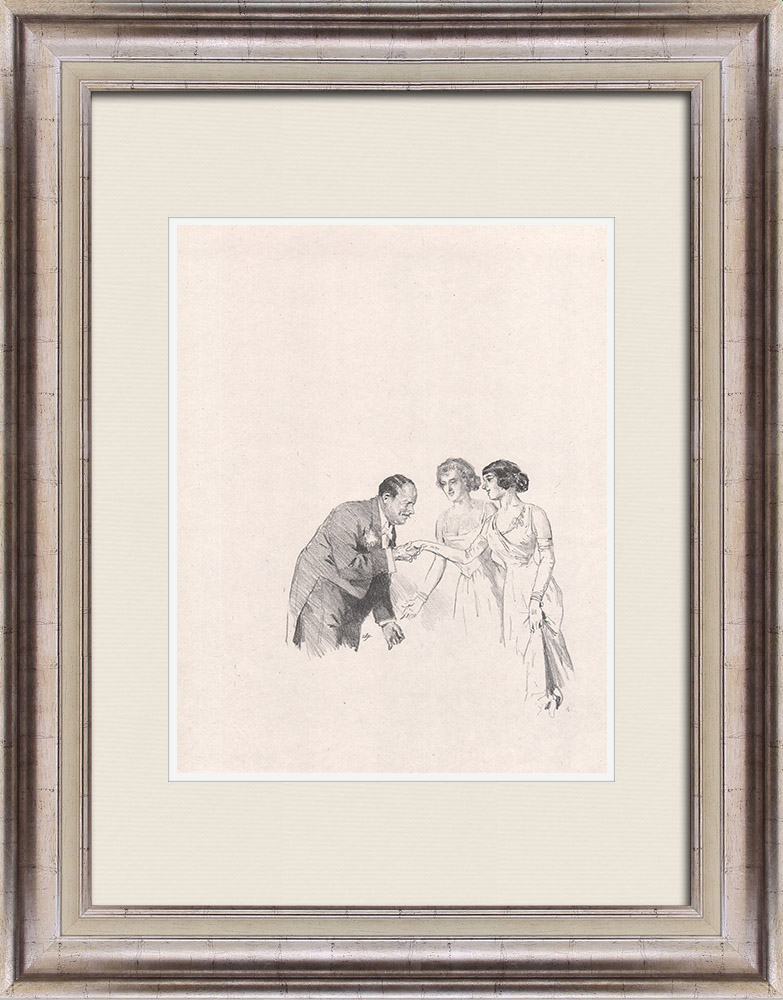 Antique Prints & Drawings | Theatre - Play - Education of a Prince (Maurice Donnay) 39/62 | Lithography | 1931