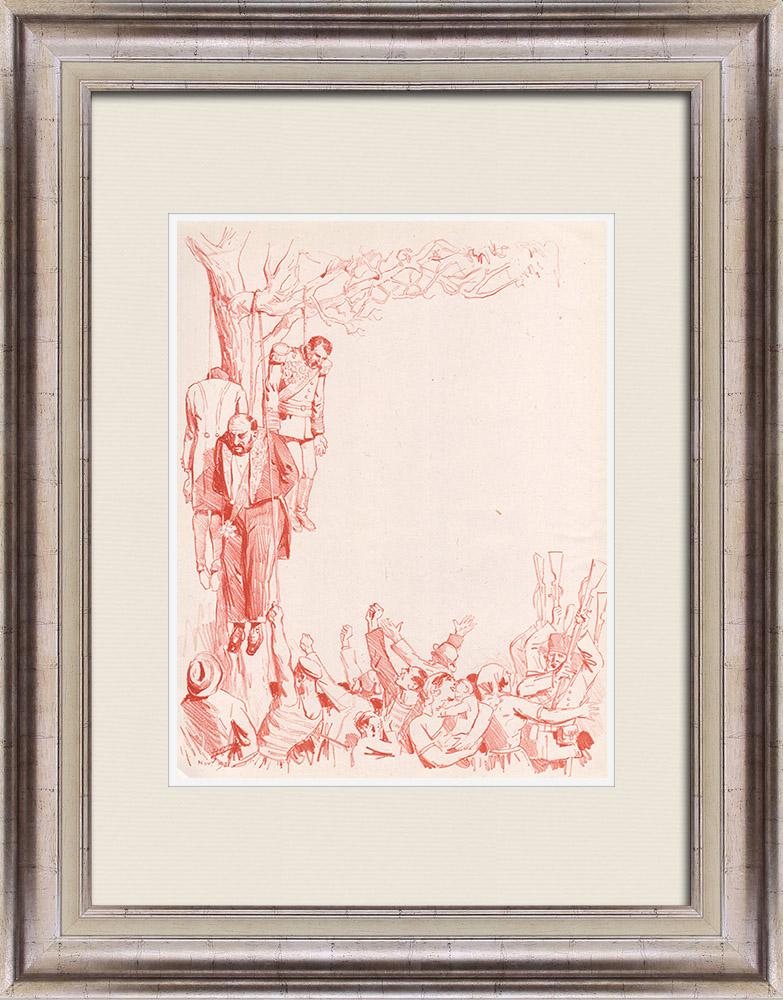Gravures Anciennes & Dessins | Pièce de Théâtre - Education de Prince (Maurice Donnay) 58/62 | Lithographie | 1931