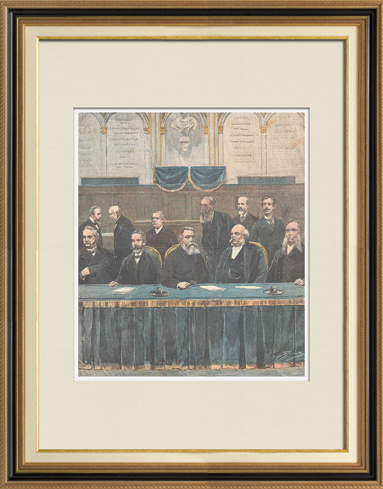 Antique Prints & Drawings | Kingdom of Italy - Rudini's new government - 1896 | Wood engraving | 1896
