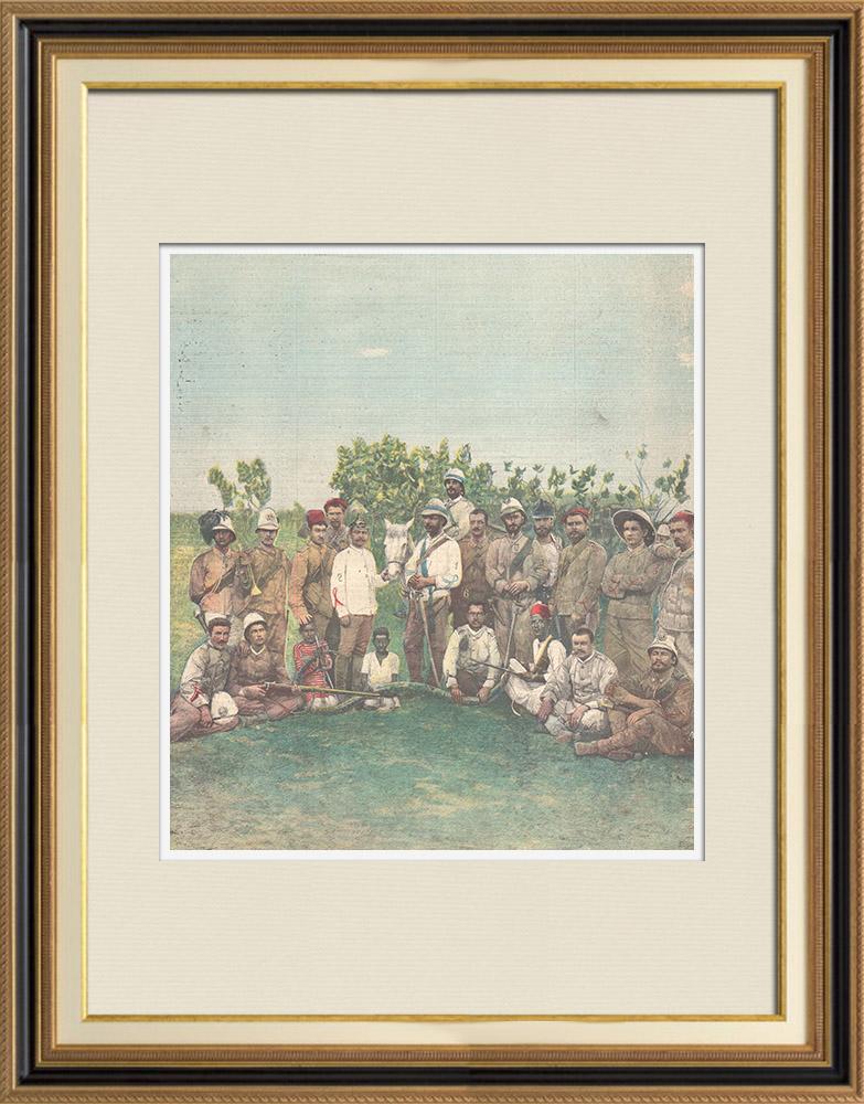 Antique Prints & Drawings | Italo-Ethiopian War - Génie d'Otumlo - Eritrea - 1896 | Wood engraving | 1896