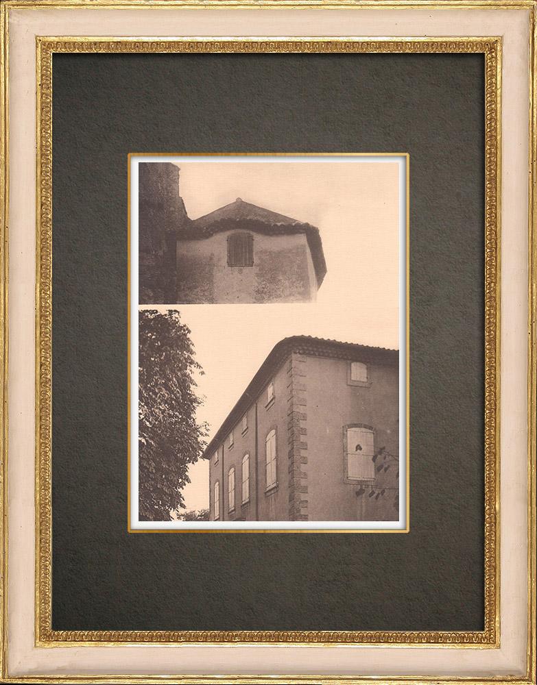 Gravures Anciennes & Dessins   Une bastide à Aix-en-Provence - Provence (France)   Phototypie   1928