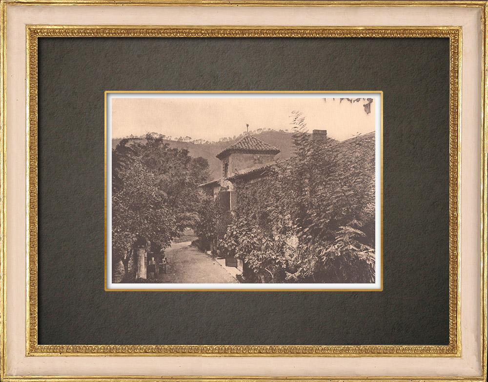 Antique Prints & Drawings | Valbonnette castle - Guard house - Lambesc - Provence (France) | Phototypie | 1928