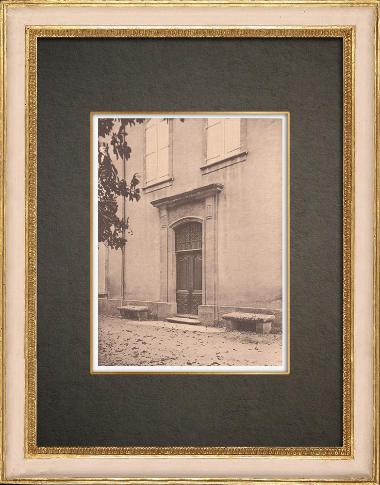Antique Prints & Drawings   La Séguirane close to Aix-en-Provence (France)   Phototypie   1928