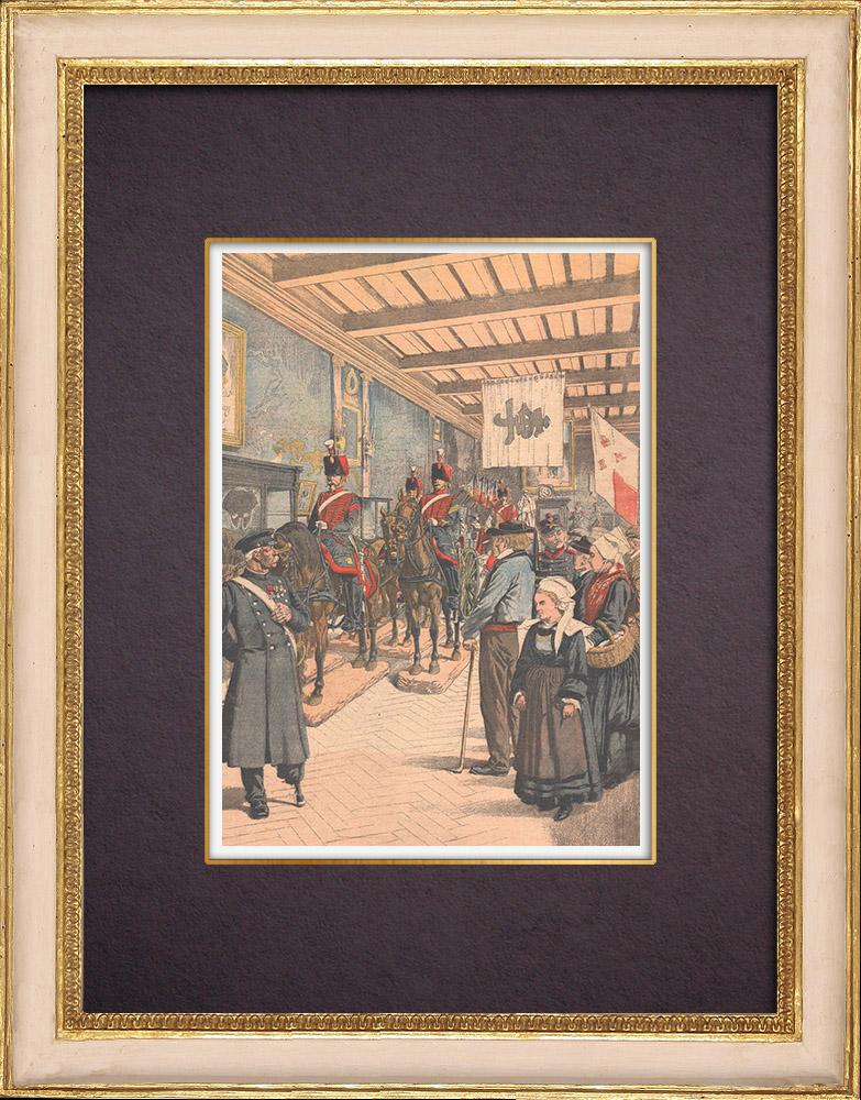 Gravures Anciennes & Dessins | Musée de l'Armée - Hôtel des Invalides - Paris - 1903 | Gravure sur bois | 1903