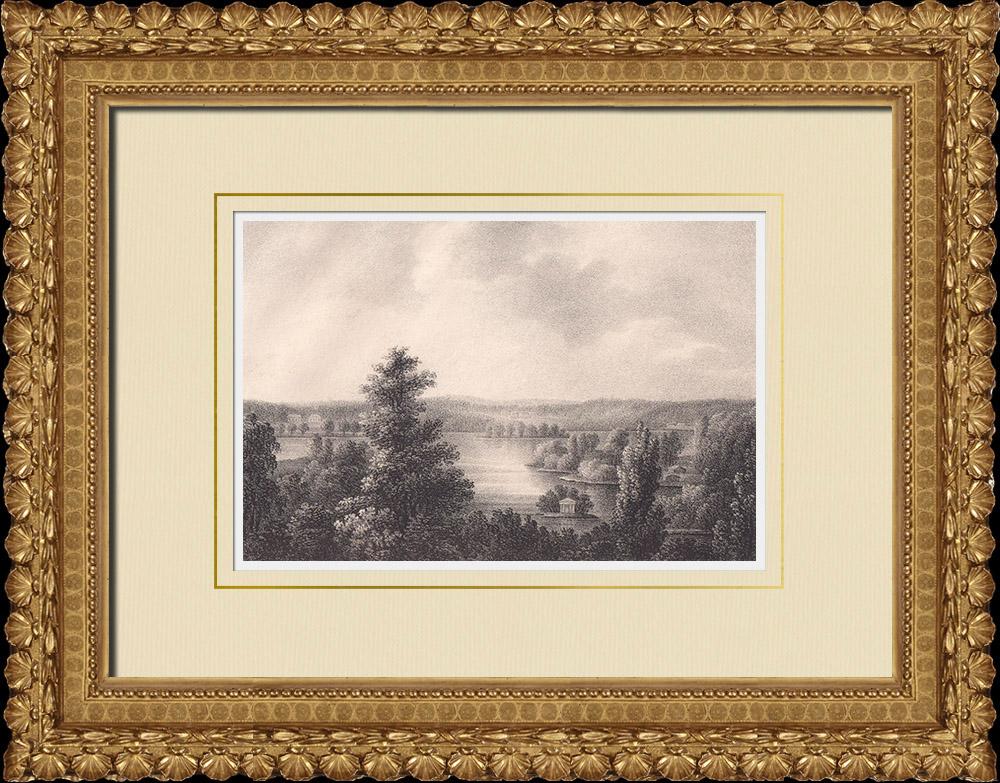 Antique Prints & Drawings | View of Elfstorp - Bergslagen - Svealand - Närke (Sweden) | Lithography | 1840