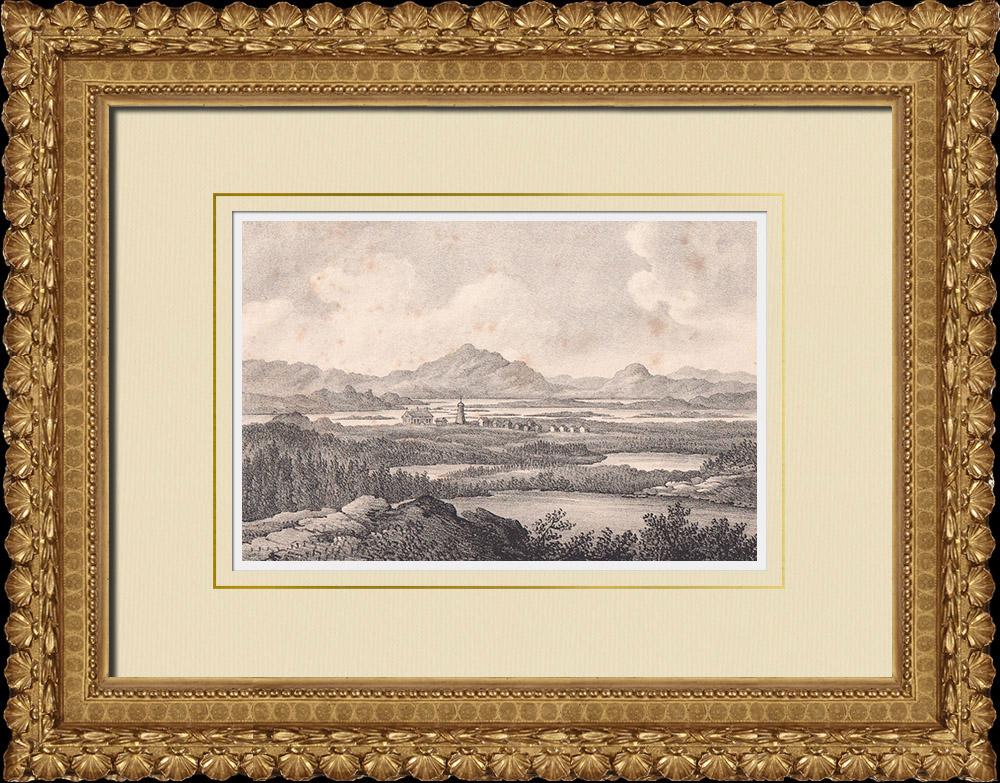 Stampe Antiche & Disegni | Lapponia - Torne lappmark  - Finlandia - Lapponia svedese (Svezia) | Litografia | 1840