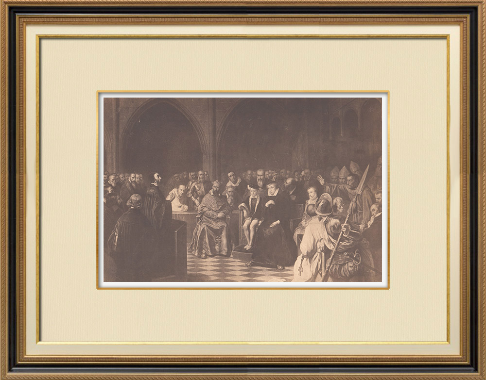 Stampe Antiche & Disegni | Luigi XIII di Francia - Maria de' Medici Reggente - Stati Generali (1614) | Fotografia | 1870