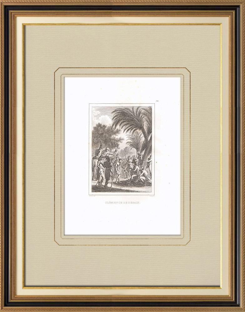 Stampe Antiche & Disegni | Clemenza del generale Desaix in Egitto | Incisione su rame | 1830