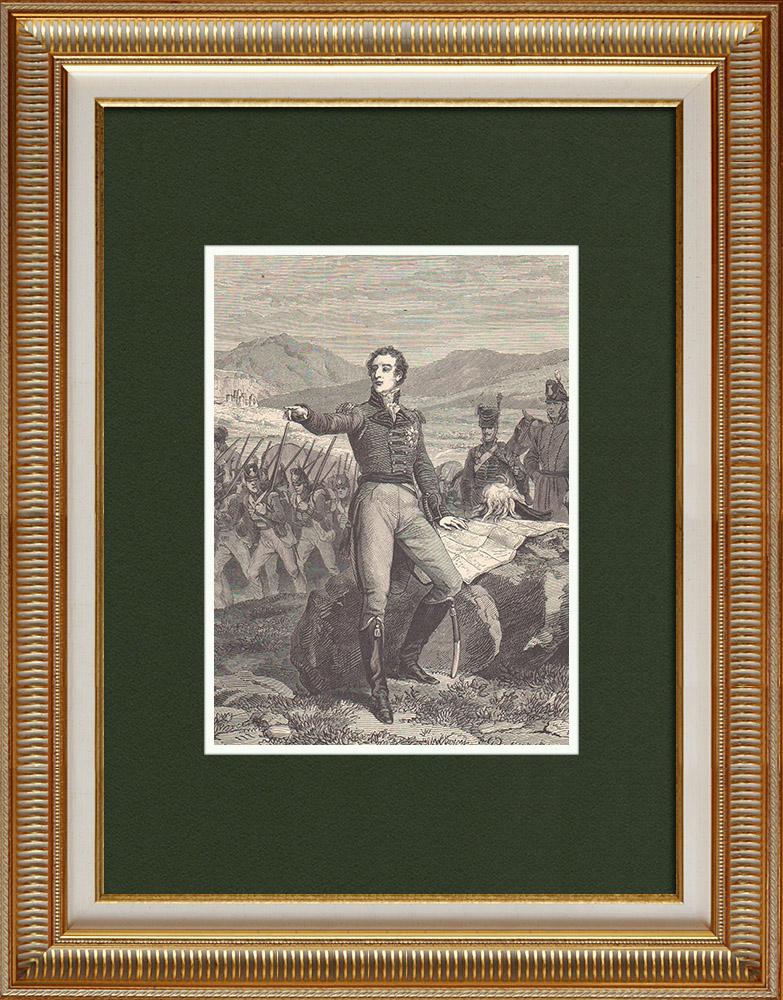Antique Prints & Drawings   Arthur Wellesley, 1st duke of Wellington (1769-1852)   Wood engraving   1870